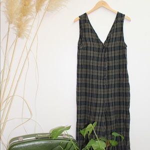 Zara Plaid Jumpsuit LIKE NEW!